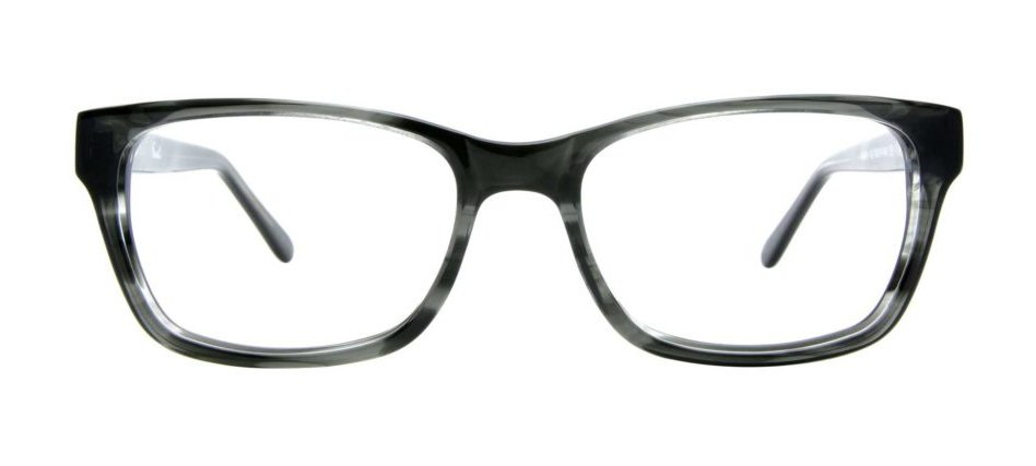 Gray and Black Eyeglasses