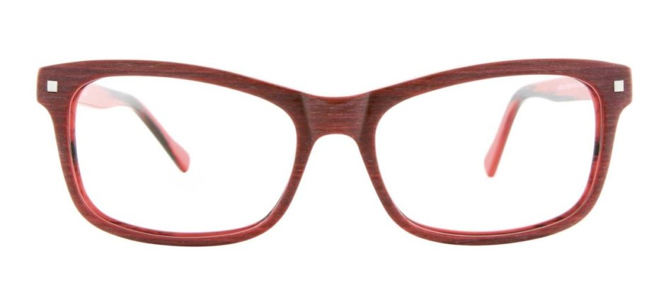 Brantley Focali Red Eyeglasses