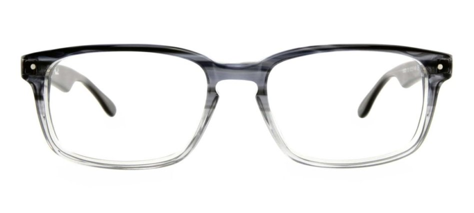 Foxcote Focali Gray Clear Eyeglasses
